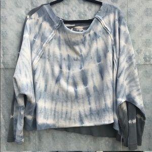 Free People East Meets West Tie-Dye Sweatshirt